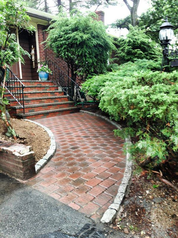 Walkways steps mcdonald contractingmcdonald contracting - Walkway designs for homes ...