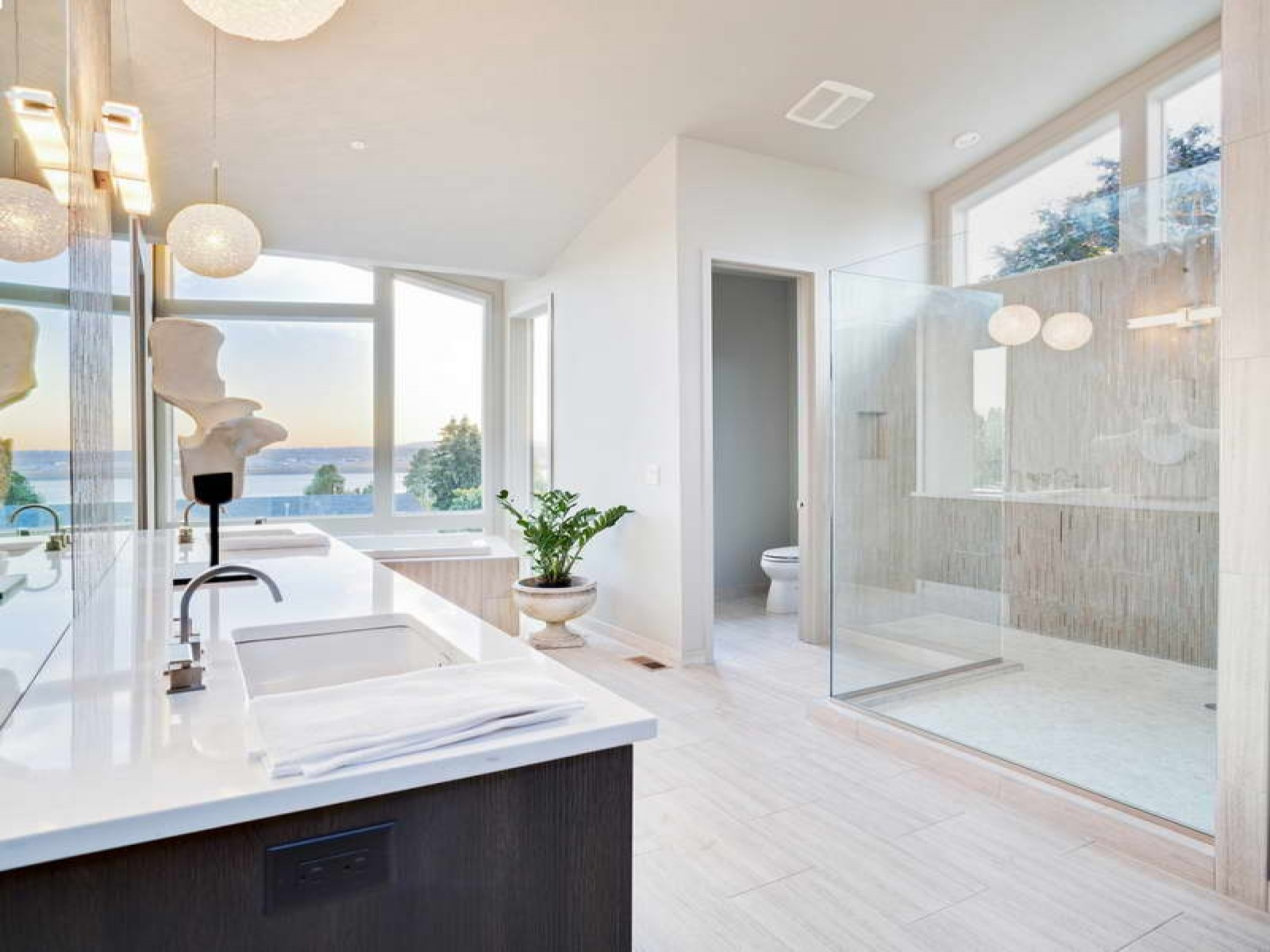 Bathroom upgrades that are worth the cost mcdonald for Bathroom designs glass