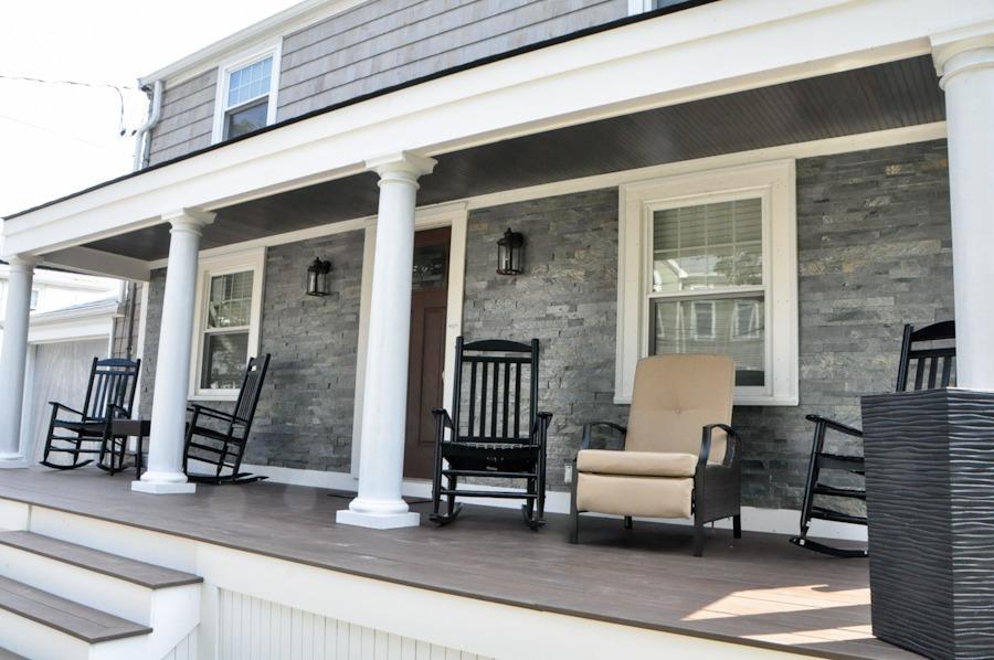 Stone Porch Home Renovation