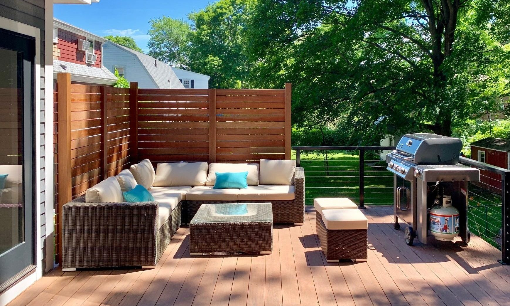 Mahogany Deck Addition