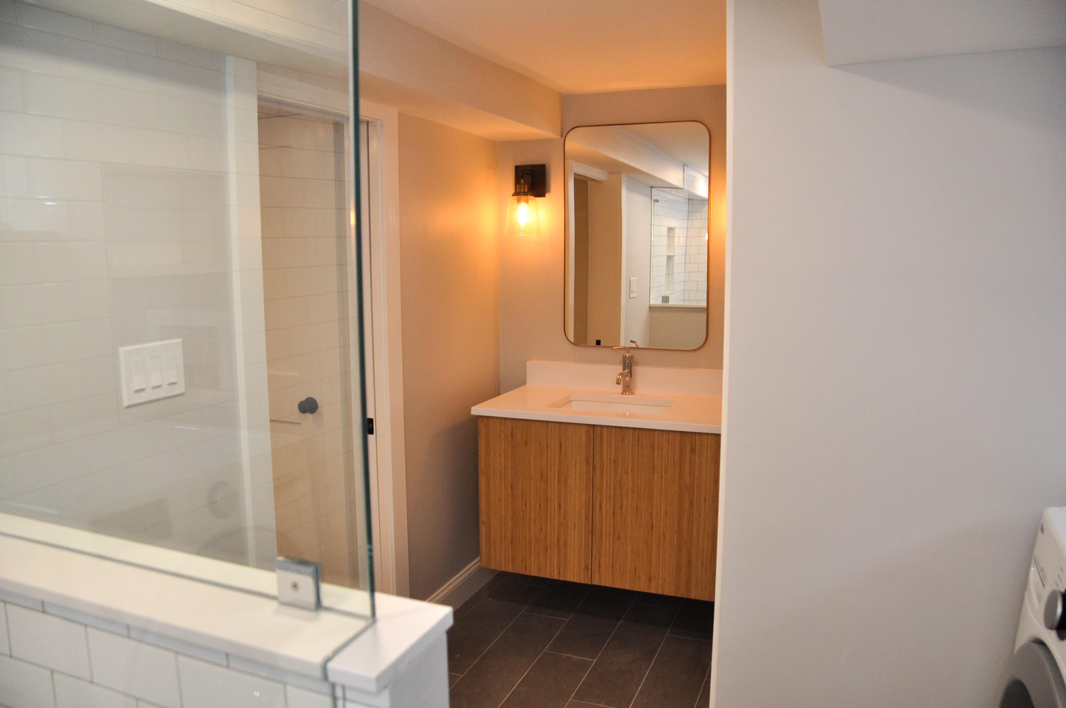 Brand New Basement Bathroom