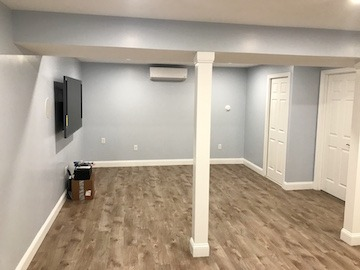 Total Basement Remodel