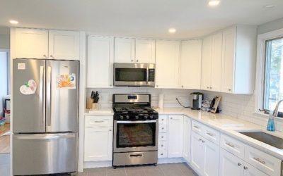 Fresh New Kitchen: Minor Kitchen Renovation